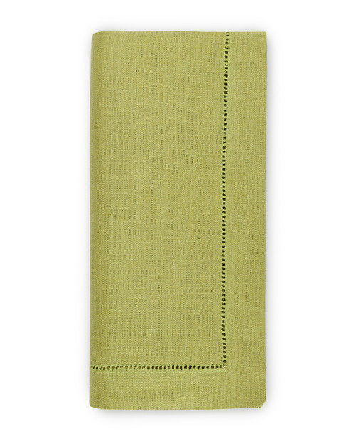Goltermann-Grote Sferra Festival Linen Napkin Set of 4 | Lime