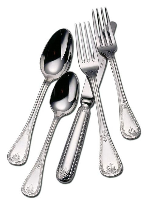 Goltermann-Grote Consul Stainless Steel 5-Piece Place Setting