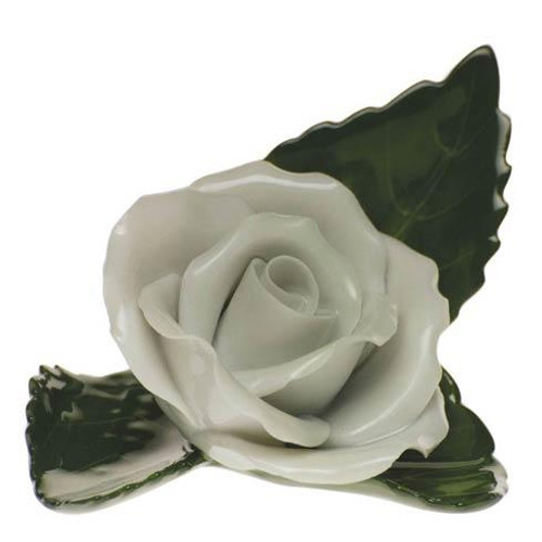 Placecard Holders Rose On Leaf [HERHRD-C-W---08983-0-00]