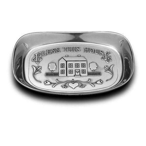 """Bless this Home"" Small Bread Tray [WILLBD-601012]"