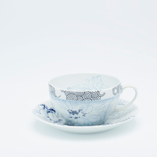 Coupe Rêve Bleu Breakfast cup