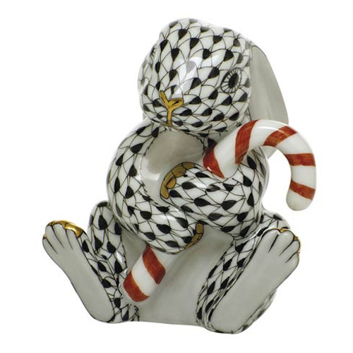 Bunnies Candy Cane Bunny-Black