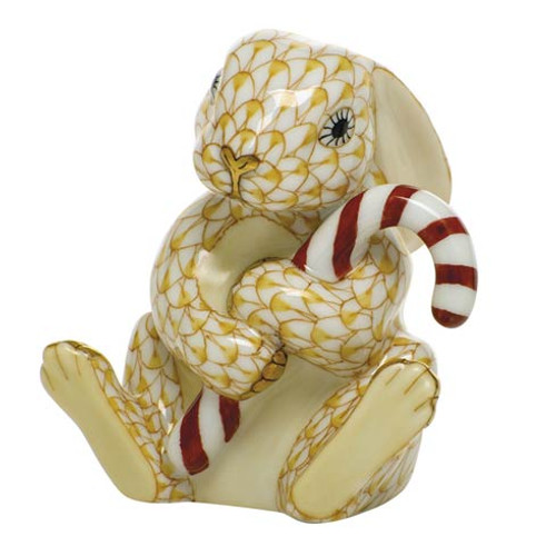 Bunnies Candy Cane Bunny-Butterscotch