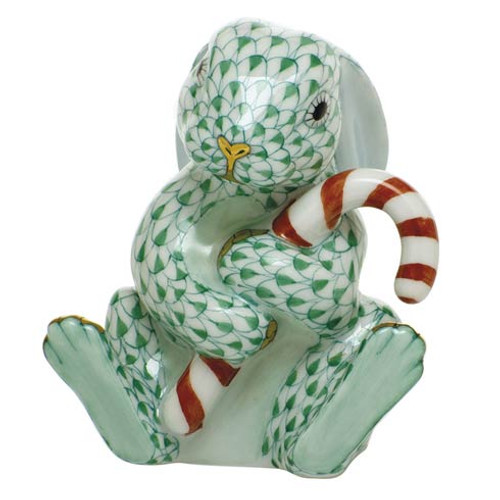 Bunnies Candy Cane Bunny-Green
