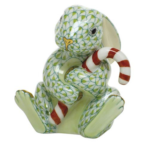 Bunnies Candy Cane Bunny-Key Lime