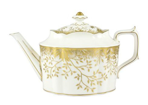 Arboretum Gold Large Tea Pot