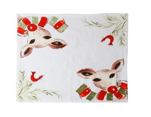 Deer Friends Napkin, Set/4