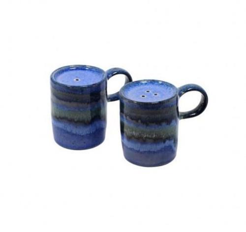Sausalito Blue Salt & Pepper Set, Blue