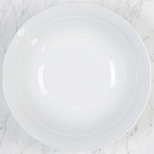 Brianne-Konkle WEAVE LARGE SERVING BOWL WHITEWARE