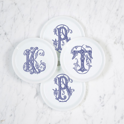 Coaster with Single Couture Monogram Variety