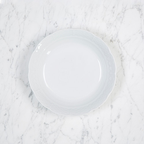 Presson-Reynolds WEDDING WEAVE SIMPLY WHITE CEREAL BOWL