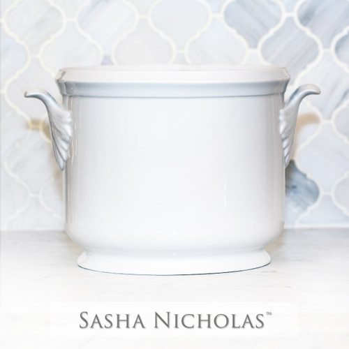 Simply White Champagne Bucket