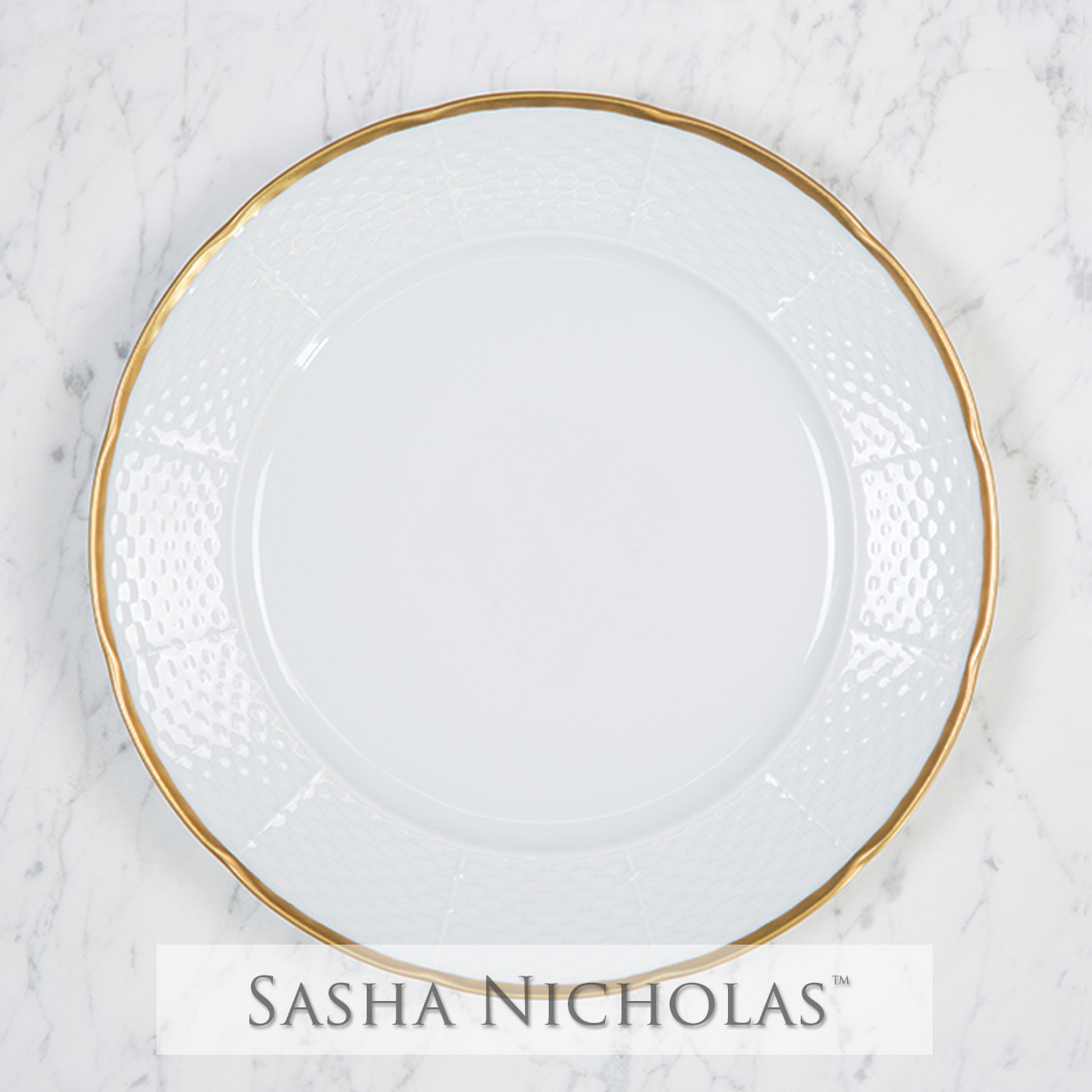 A beautiful addition to your dinnerware collection and to adorn your tablescapes with. It makes  sc 1 st  Sasha Nicholas & Custom Dinnerware | China For Tablescape u0026 Wedding Registry