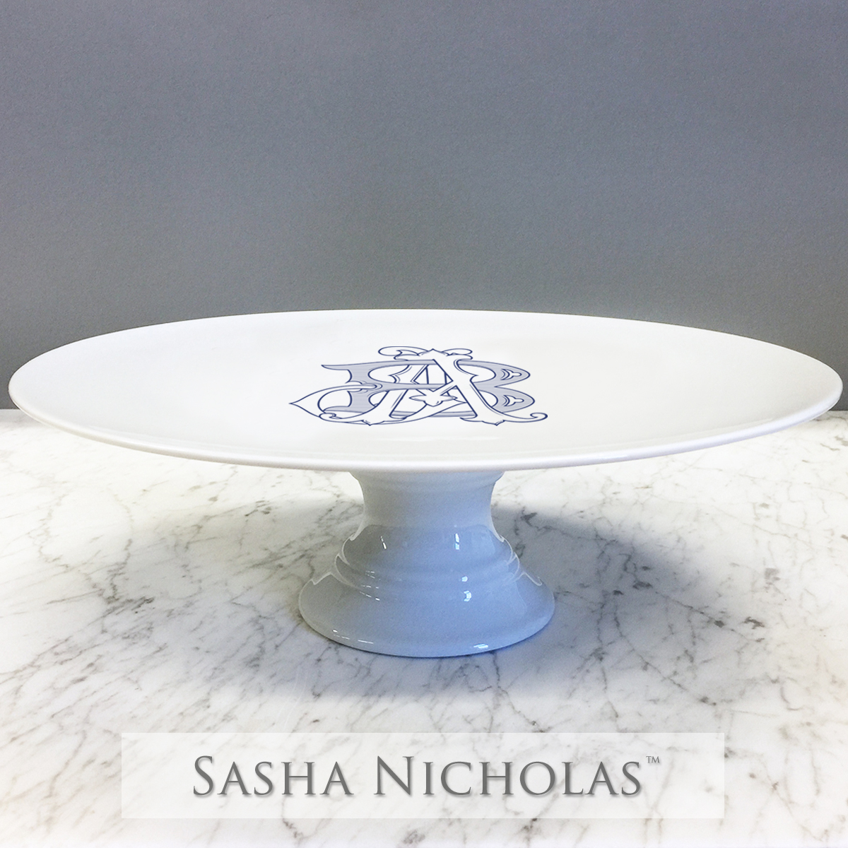 Forbes-Blankenship Cake Plate