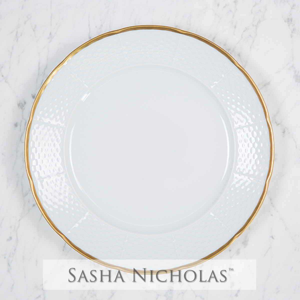 A beautiful addition to your dinnerware collection and to adorn your tablescapes with.  sc 1 st  Sasha Nicholas & Custom Dinnerware | China For Tablescape u0026 Wedding Registry