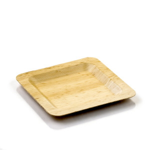 Bamboo Leaf Plate | Medium | 6\  | 100 count  sc 1 st  Good Start Packaging & Bamboo Disposable Plates | Compostable Plates | Good Start Packaging