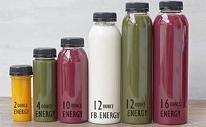 Round Juice Bottles