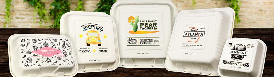Custom Printed Food Packaging | Custom Restaurant Packaging