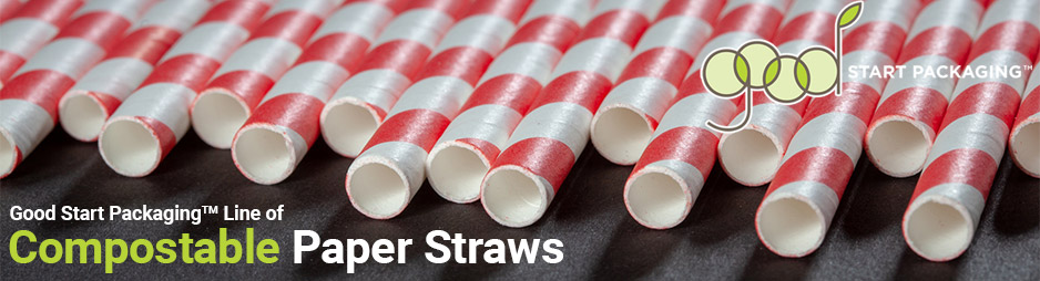 Paper Straws from Good Start Packaging