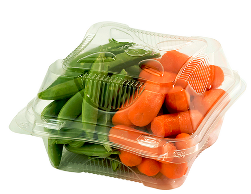 Compostable Plastic Clamshell Packaging Biodegradable