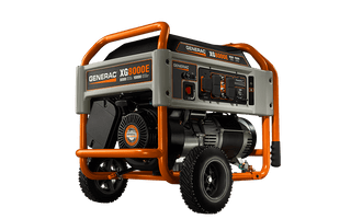 Generac 5846, 8000 Running Watts Gas Powered Portable Generator, CARB Compliant