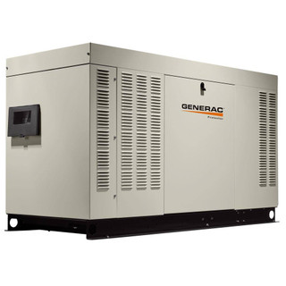 Generac RG04524ANSX 45kW (NG) Liquid-Cooled Standby Generator 1 PH Steel Enclosed