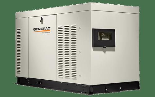 Generac RG03624ANSX 36kW (NG) Liquid-Cooled Standby Generator 1 PH Steel Enclosed