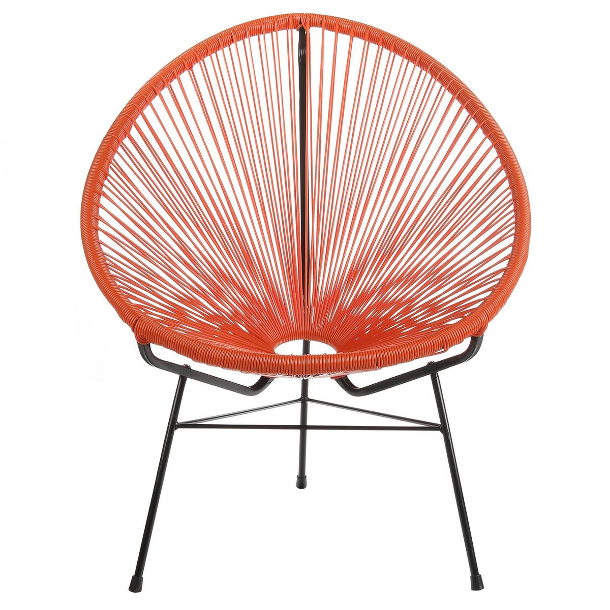 Acapulco Lounge Chair   Orange