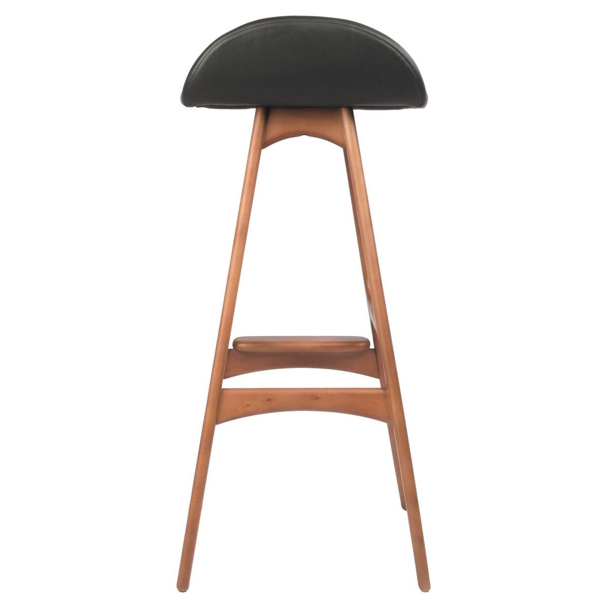 erik buch od mobler teak bar stool austin furniture warehouse