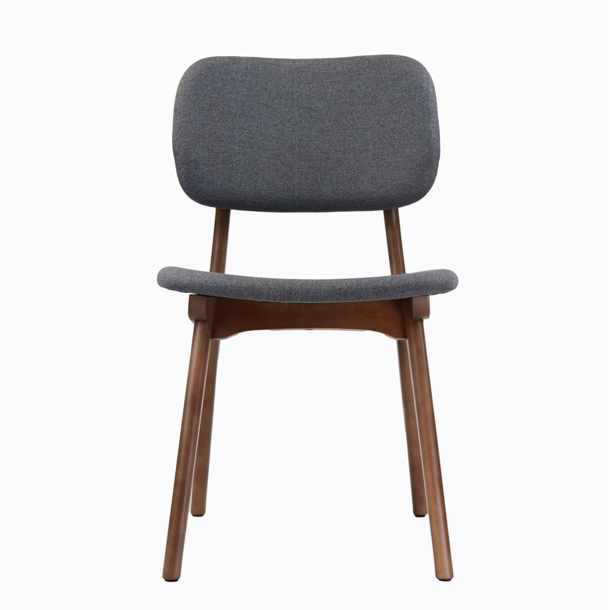 Ivor side chair grey