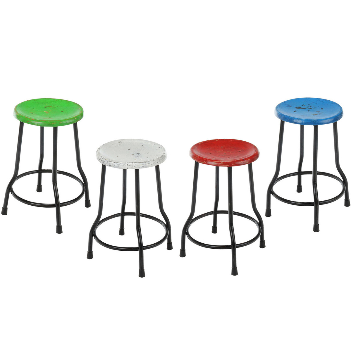 18 Best Images About Counter Stools On Pinterest: Farmhouse 18 Inch Stool, White (JA-18-CKT-WH)