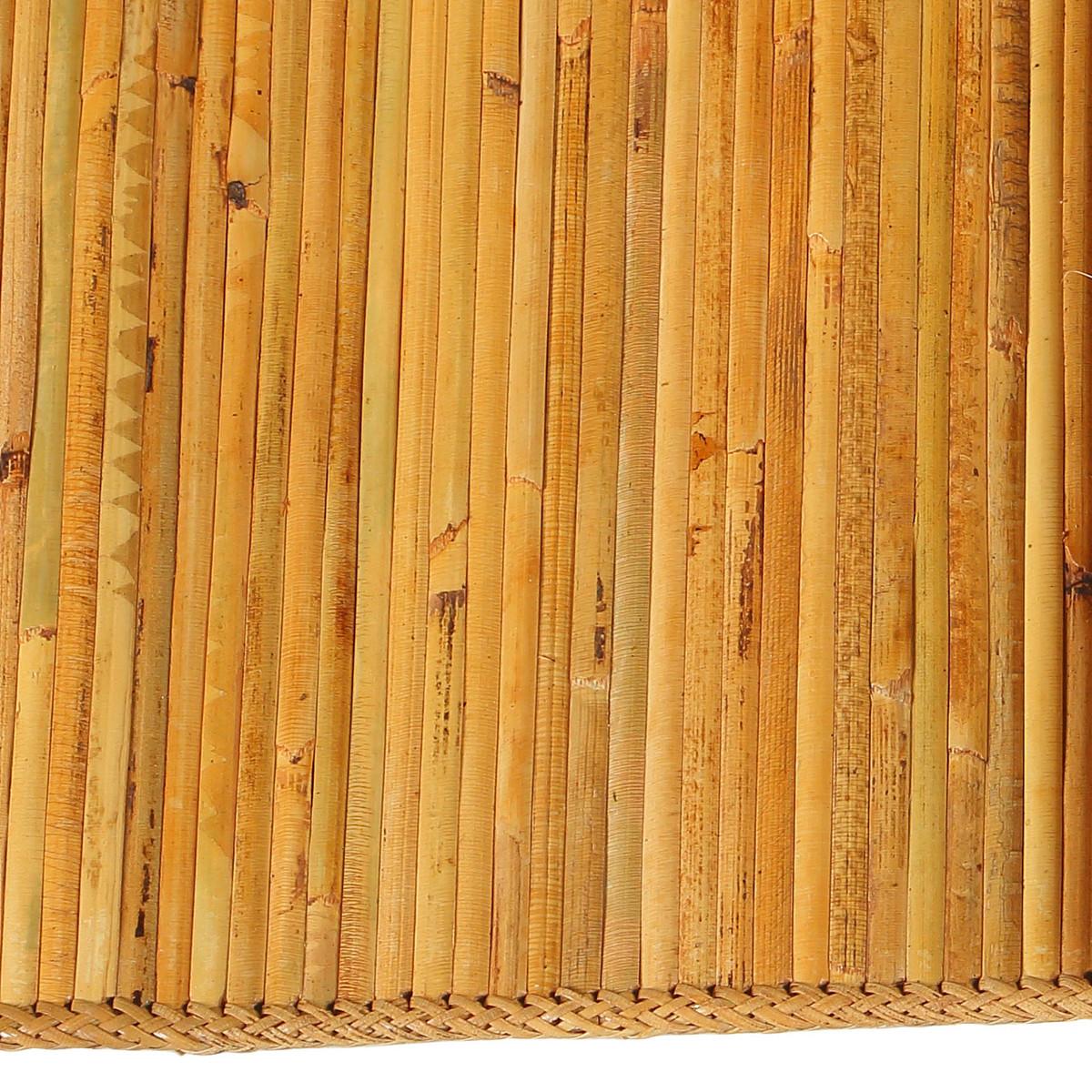 bali natural bamboo area rug, 5' x 8' (ja-rg-nb-5x8) - joseph allen Bamboo Area Rug
