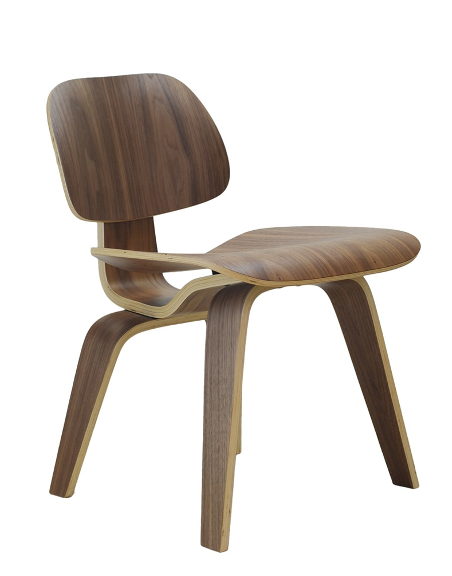 Incroyable Eames Style DSW Walnut Dining Chair