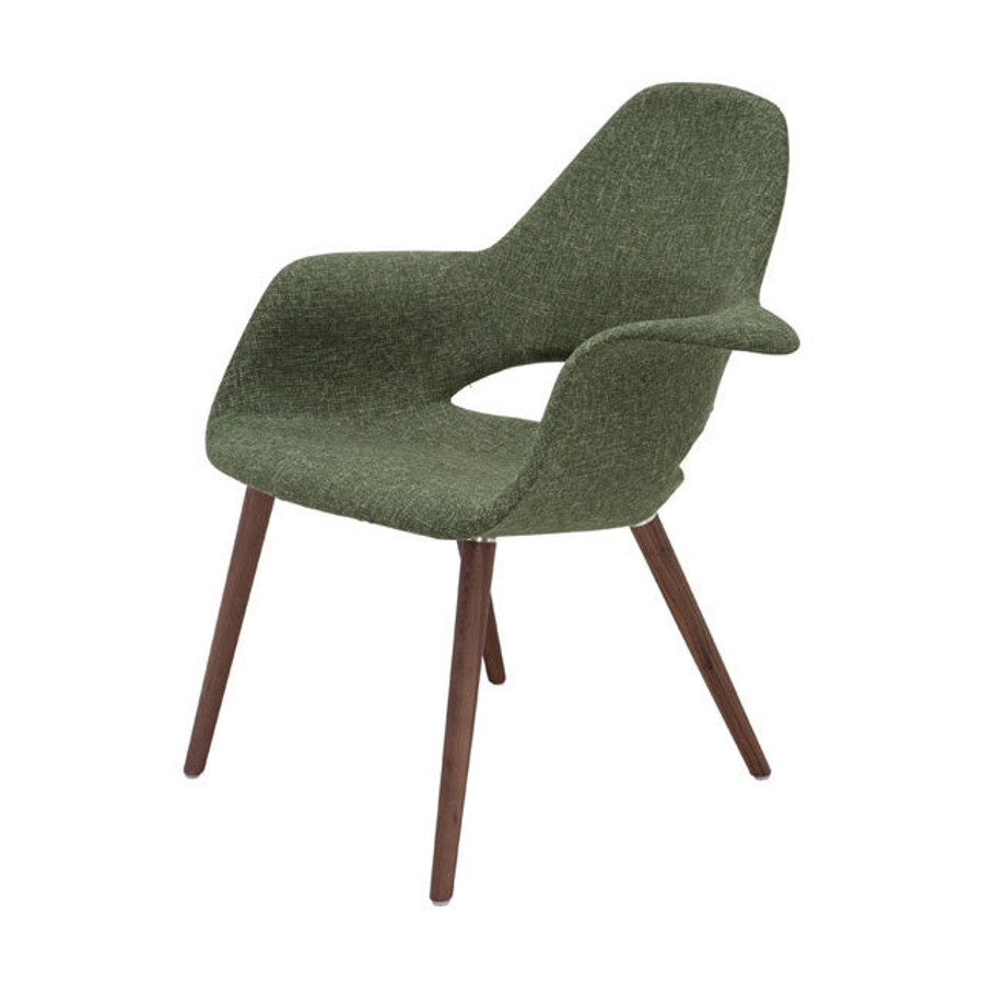 Jesse Organic Chair Dark Green (Eames U0026 Saarinen Style)