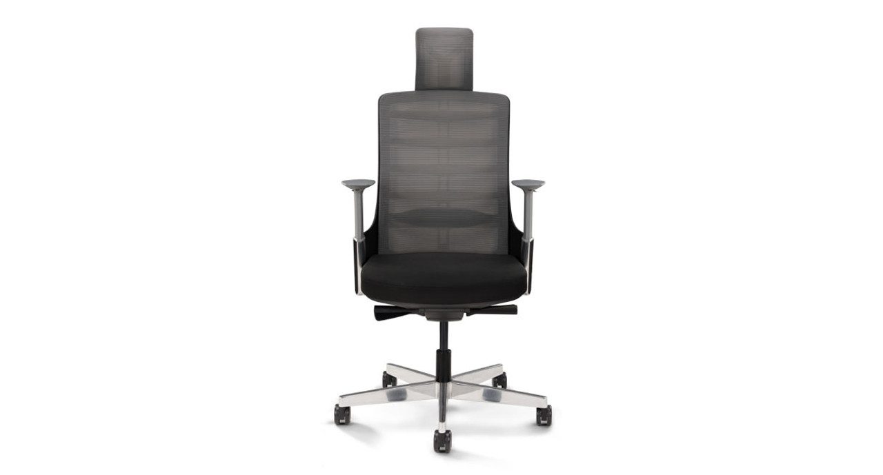 The Vert Ergonomic Office Chair Mimics The Curves Of The Spine To Deliver  Optimal Support Along The Back