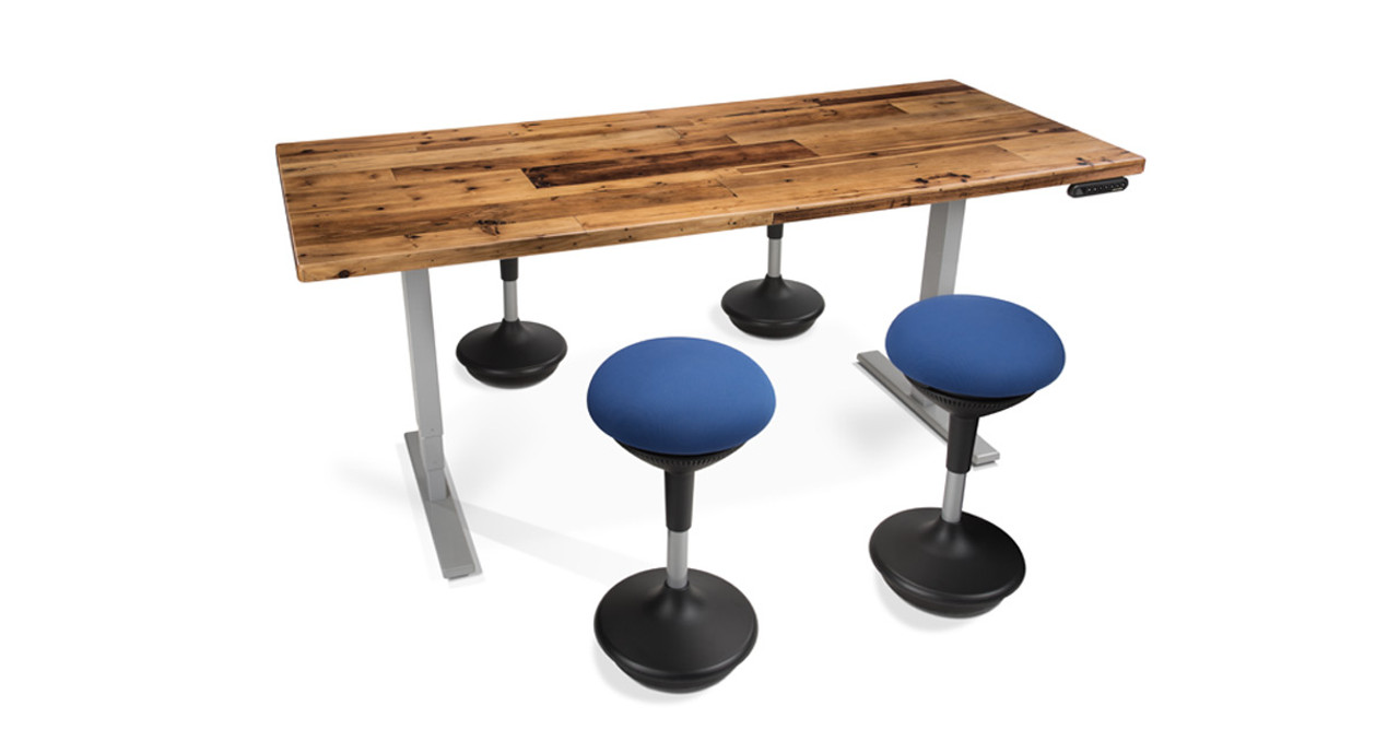 Woodland Standing Conference Tables Shop UPLIFT Desk - Desk with meeting table