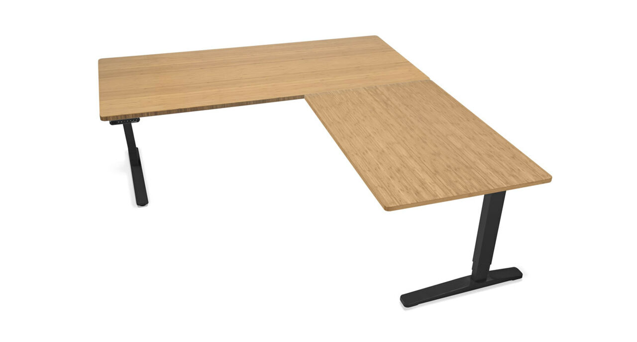 Laminate And Bamboo Desktops Are 1 Thick Provide A Le Reliable