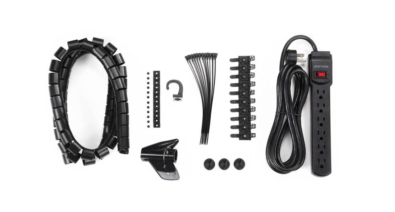Basic Wire Management Kits Shop Uplift Desk