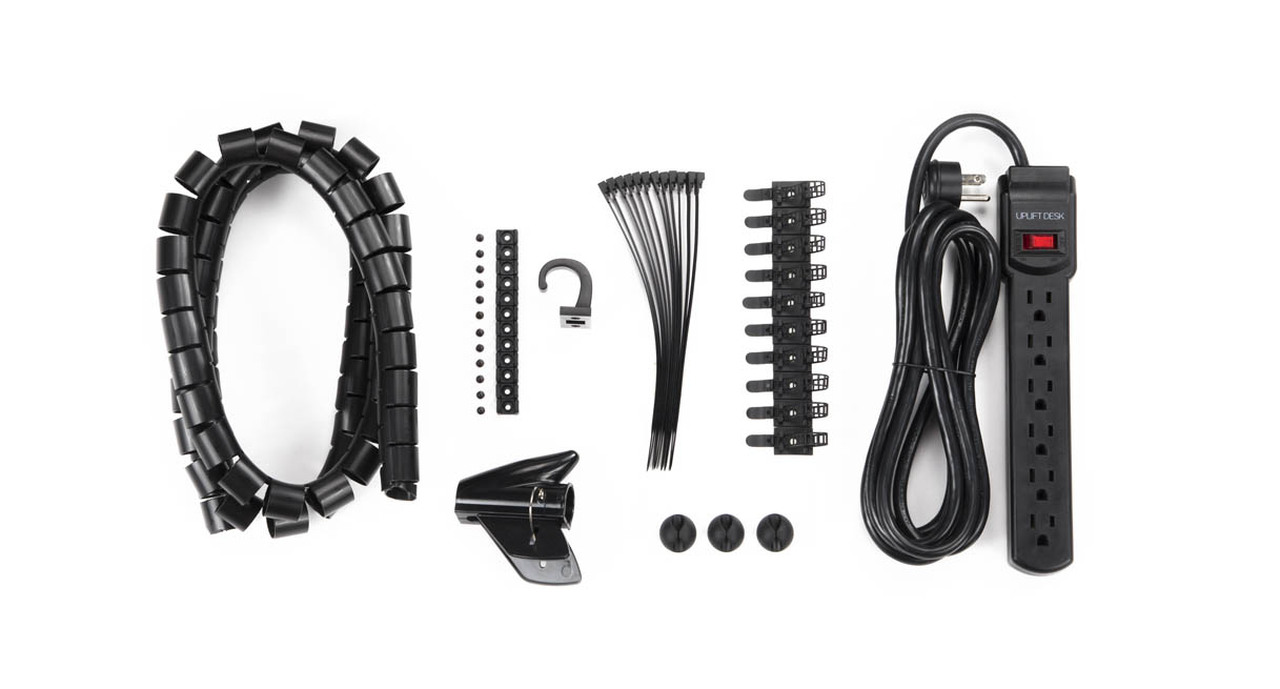 Basic Wire Management Kits | Shop UPLIFT Desk