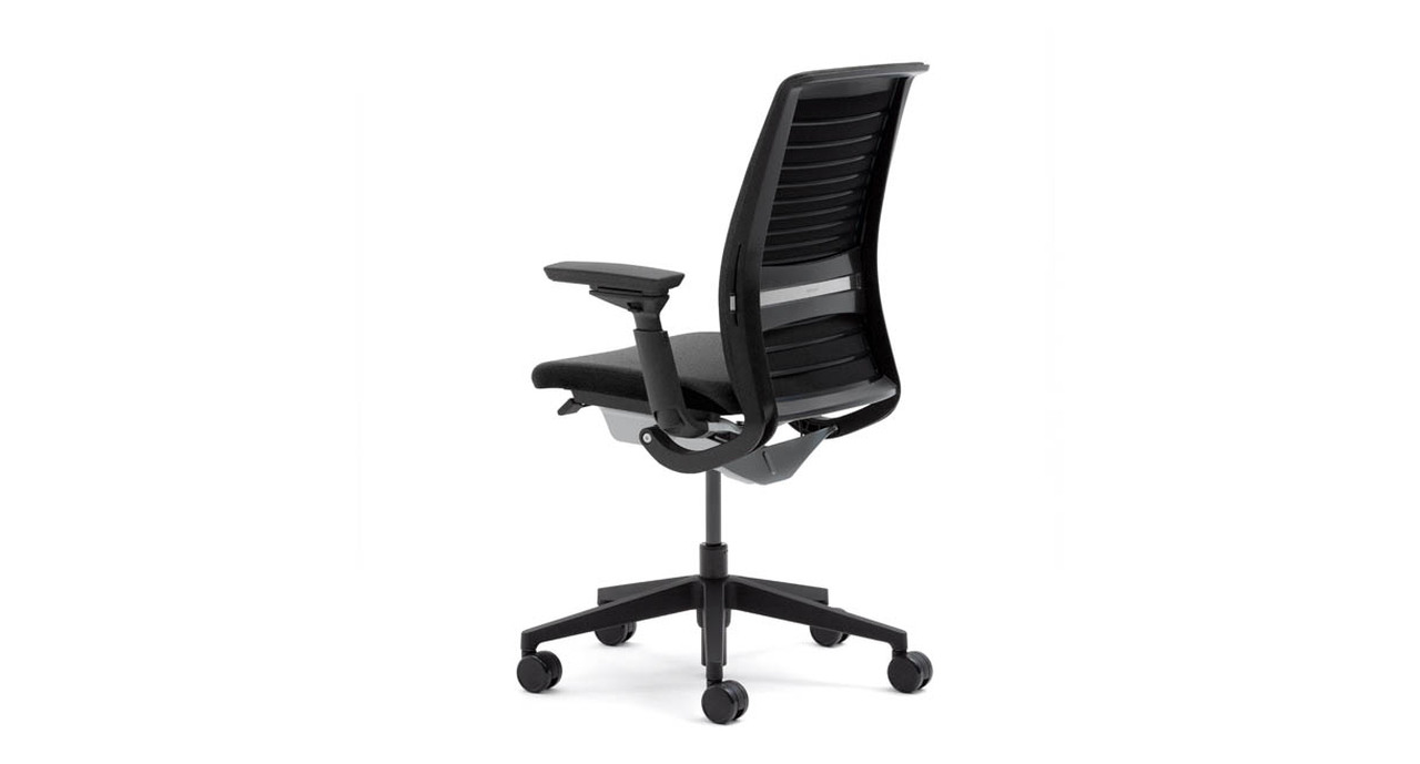 Comfort Dial Back Control Provides Four Settings For The Useru0027s Personal  Preference And Work Style. The Think Chairu0027s ...