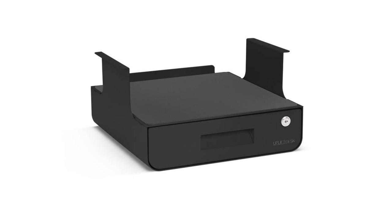 Under Desk Mount Lockable Laptop Drawer Hostgarcia