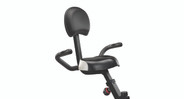 A wider seat and custom height backrest allow users to fine-tune the bike to fit their bodies