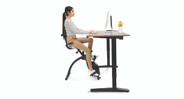 Complete your ergonomic setup with the E3 Under Desk Exercise Bike