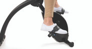 Adjustable pedals suit a wide variety of users