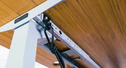 Attach accessories to 24 patent-pending accessory mounting points, which give you dedicated spots to install a wide array of accessories, from CPU holders to under-desk hammocks