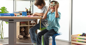 Freedom to Fidget: Kids Active Stools Make Learning and Play Even Better