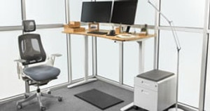 Pre-Configured Standing Desks + Accessories: Personalize & Buy Your Desk in a Few Clicks!