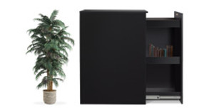 Slide Into Better Storage with the Slide Out Office Storage Cabinet!