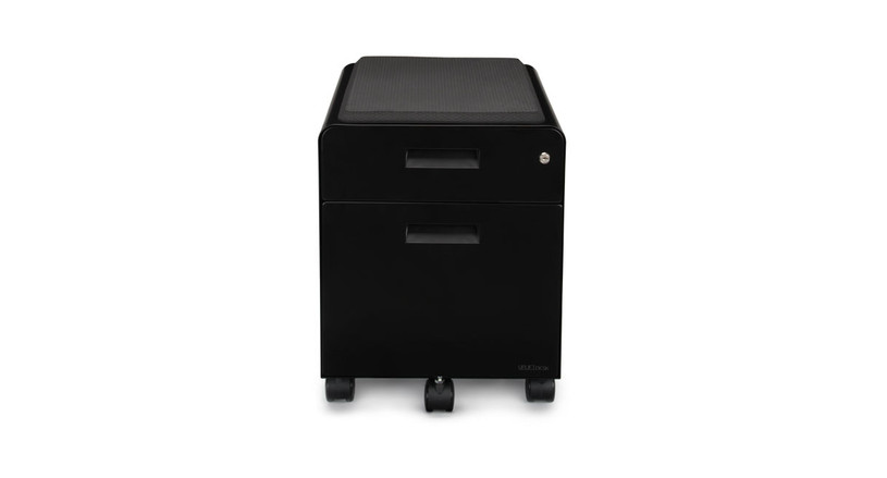 The 2 Drawer File Cabinet With Seat, Rolling Comes In 3 Different Color  Options