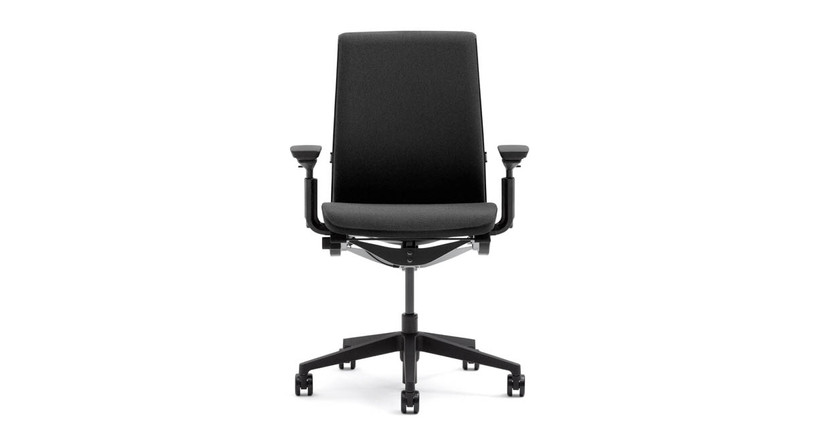 The Think Chair's advanced weight-activated mechanism with a natural fluid motion keeps users oriented to their work